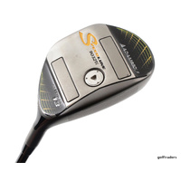 ADAMS GOLF SPEEDLINE 9032Ti 13º WOOD GRAPHITE EXTRA STIFF - NEW GRIP #E4275