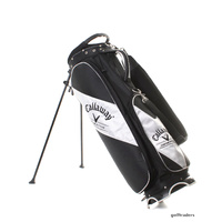 CALLAWAY CUSTOM FITTING STAND BAG - BLACK / WHITE - USED #E4419