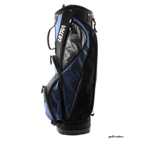 WILSON ULTRA GOLF CART BAG BLACK/BLUE - NEW #E4423