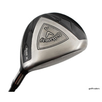 CALLAWAY RAZR X BLACK 17º 4 WOOD GRAPHITE SENIORS FLEX - NEW GRIP #E4470