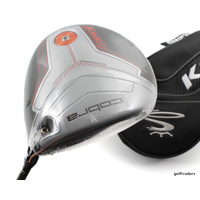 COBRA KING SILVER F7 TI DRIVER 9º-12º GRAPHITE SENIORS FLEX +COVER -NEW #E4554