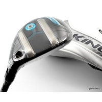 COBRA KING F7 4-5 HYBRID 22º-25º FUJIKURA GRAPHITE LADIES + COVER - NEW #E4646