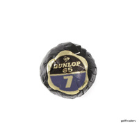 VINTAGE DUNLOP 65 CUT RESISTANT GOLF BALL INDIVIDUALLY 1970'S WRAPPED #E5143-L