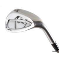 Cleveland 588.RTX Rotex Face 58.12 Lob Wedge Steel Wedge Flex  E5468
