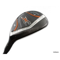CALLAWAY X2 HOT 4 HYBRID 22º X2 HOT 60 GRAPHITE REGULAR FLEX #E5492