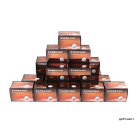 Foremost Espresso Extreme Distance Golf Balls 20 x 12 Mega Pack - New E5768