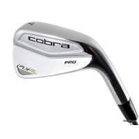 COBRA FLY-Z PRO FORGED 7 IRON STEEL DYNAMIC GOLD S300 STIFF FLEX #E6223