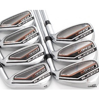 COBRA F7 IRONS 4-PW STEEL REGULAR FLEX #E6225