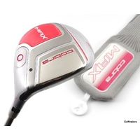 COBRA LADIES MAX PINK 5 WOOD 23º GRAPHITE MATRIX LADIES FLEX + COVER #E6480