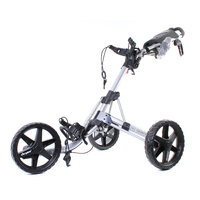 Clicgear 3.5 Plus Golf Buggy - Silver / Black E6561