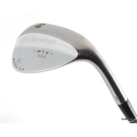 CLEVELAND RTX-588 ROTEX 2.0 LOB WEDGE 58.10 STEEL WEDGE FLEX #E6565