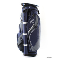 CALLAWAY FORRESTER 2.0 CART BAG -NAVY/WHITE - NEW #E672