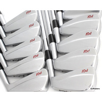 "Joe Powell PGI Forged Irons 2-PW, SW Steel Regular +0.5"" plus free gift E7000"