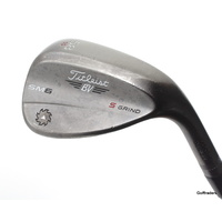 TITLEIST VOKEY SM6 STEEL GREY S GRIND LOB WEDGE 58.10 STEEL WEDGE FLEX #E754