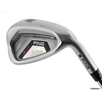 PING I25 BLACK DOT PITCHING WEDGE STEEL CFS STIFF FLEX #F1062