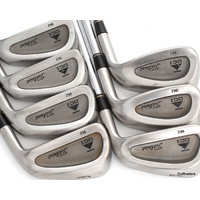 TITLEIST DCI 962 IRONS 3-9 STEEL DYNAMIC GOLD STIFF FLEX - NEW GRIPS #F1173