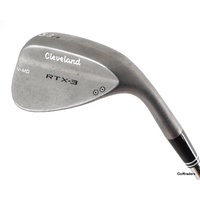 CLEVELAND RTX-3 TOUR RAW LOB WEDGE 58.09 STEEL DG WEDGE FLEX #F1230