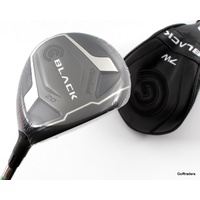 CLEVELAND BLACK 7 WOOD 20º GRAPHITE BASSARA LADIES FLEX + COVER - NEW #F1249