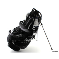 CLEVELAND CG 15 MEN'S GOLF STAND BAG - BLACK / CHARCOAL / WHITE - NEW #F1315