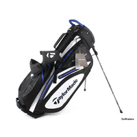 New Taylormade 100% Waterproof Stand Bag Black / White / Navy F1335