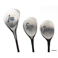 LADY HOGAN LADIES WOOD SET DRIVER, 5 & 7 WOOD GRAPHITE LADIES - NEW GRIP #F144