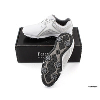FOOTJOY ENERGIZE MENS GOLF SHOES SIZE US 9W STYLE 58111A SPIKED - NEW #F1561