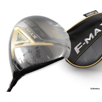 COBRA F MAX OFFSET DRIVER 11.5º GRAPHITE SENIORS FLEX + COVER - NEW #F1786
