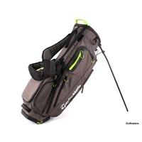 TAYLORMADE FLEXTECH STAND BAG CHARCOAL / LIME - USED #F1856