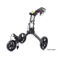 CLICGEAR ROVIC RV1C GOLF BUGGY CHARCOAL / BLACK - NEW #F1994