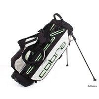 COBRA STAND BAG BLACK / WHITE - USED #F2136