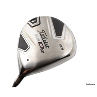 Titleist 909D2 Driver 9.5º Graphite Stiff Flex New Grip F2338
