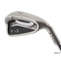 PING G25 BLACK DOT 7 IRON STEEL STIFF FLEX #F240