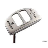 "BROSNAN SILVER BULLET SB 2 STAINLESS PUTTER 35.5"" STEEL - NEW GRIP #F255"