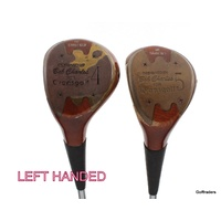 BOB CHARLES FOR EVANSGOLF VINTAGE SET 4 & 5 WOODS STIFF FLEX+NEW GRIPS-LH #F283