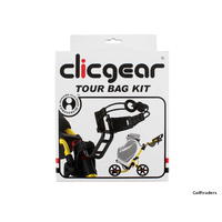 Clicgear Tour Bag Kit - Black Fits 1.0, 2.0, 3.0, 3.5+ Models F2882