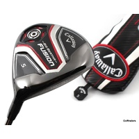 CALLAWAY BIG BERTHA FUSION 5 WOOD GRAPHITE RECOIL ES REGULAR FLEX +COVER #F295
