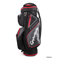 New Taylormade TM19 Chariot Select Cart Bag Black / Red F3026
