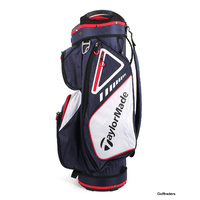 New Taylormade TM19 Chariot Select Cart Bag Navy / Red / White F3027