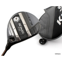 Cobra King F8 5-6 Fairway Wood 17º-20º Graphite Stiff Flex Cover F3535