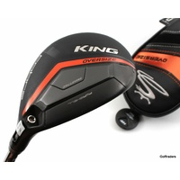 Cobra King Oversize 4-5 Hybrid 22º-25º Graphite Regular Flex Cover F3725
