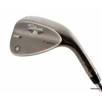 Titleist SM6 Steel Grey F Grind Sand Wedge 54.14 Steel Stiff Flex F3875