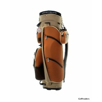 Eagles & Birdies Classic Golf Cart Bag Khaki / Tan F4212