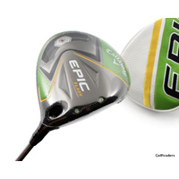 New Callaway Epic Flash Driver 12º Graphite Seniors Flex Cover F4379