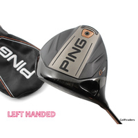 Ping G400 Driver 9º Graphite Stiff Flex Left Handed Cover F4448
