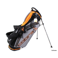 New Cobra Ultralight UL19 Golf Stand Bag Black / Orange F4492