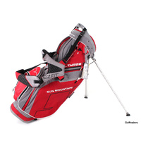 New Sun Mountain Three.5 Stand Bag  Grey / Red F46