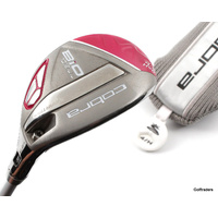 Cobra Bio Cell Pink 4-5 Hybrid 23.5º-26.5º Graphite Ladies Flex Cover F4733
