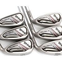 Ping Karsten Black Dot Irons 5-PW Graphite Regular Flex F5693