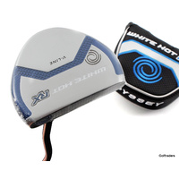 "New Odyssey White Hot RX V-Line Putter Steel 35"" Cover F5782"