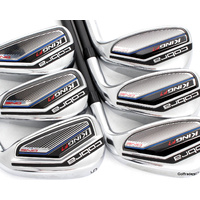 Cobra King F7 One Length Irons 5-PW Graphite Regular Flex F5788